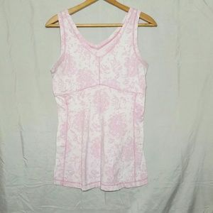 Lucy Lucypower Athletic Tank Top Floral Paisley